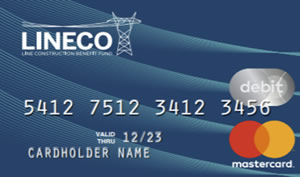 Image of new LINECO HRA Card.